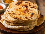 Рецепта Бързи и лесни пърленки със сода, кисело мляко и сирене на фурна или на оребрен грил тиган
